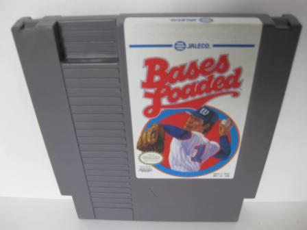 Bases Loaded (Blue Jaleco) - NES Game